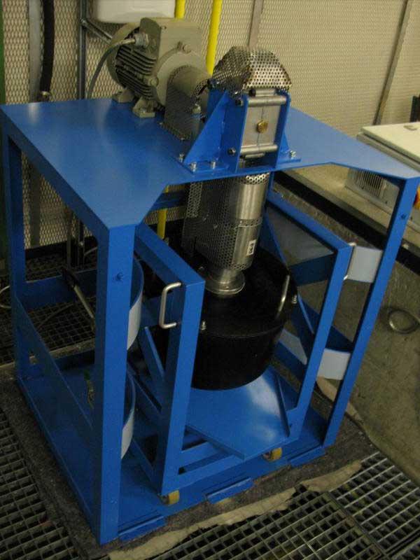 Verschleißprüfstand für Schneidwerkzeuge (Eigenbau)